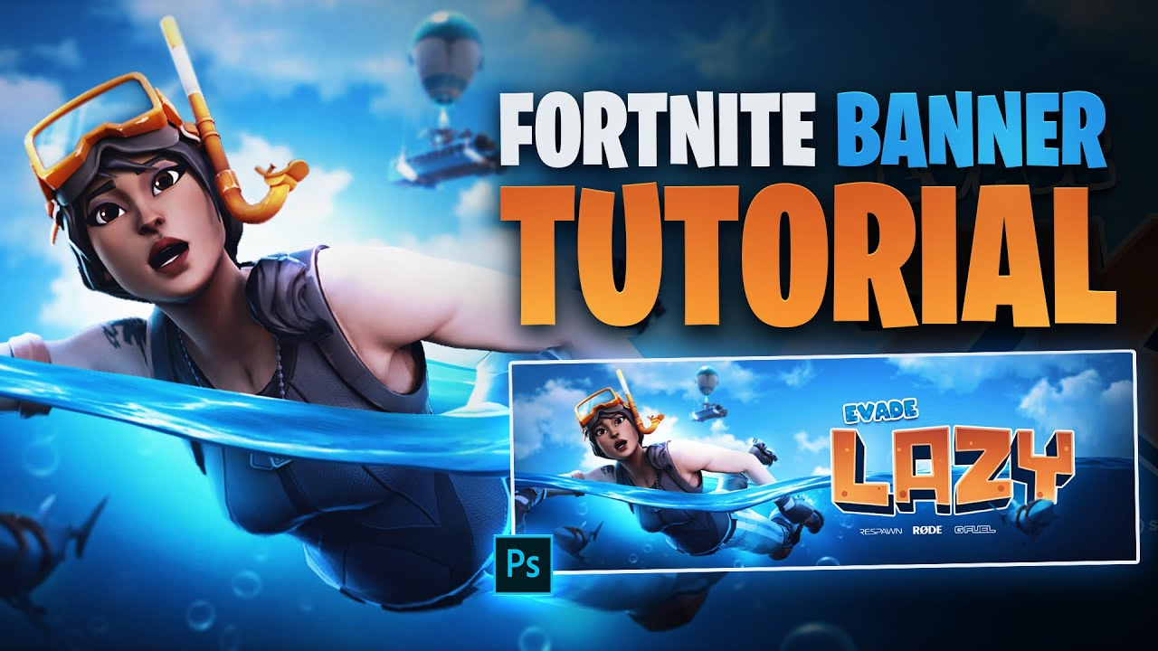 Underwater Fortnite Banner Tutorial Free Psd Tutorial By Edwarddzn Youtube Fortnite personalized party banner comes ready to hang with string included.fortnite banners. underwater fortnite banner tutorial free psd tutorial by edwarddzn