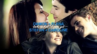 Delena + Steroline | what I can get