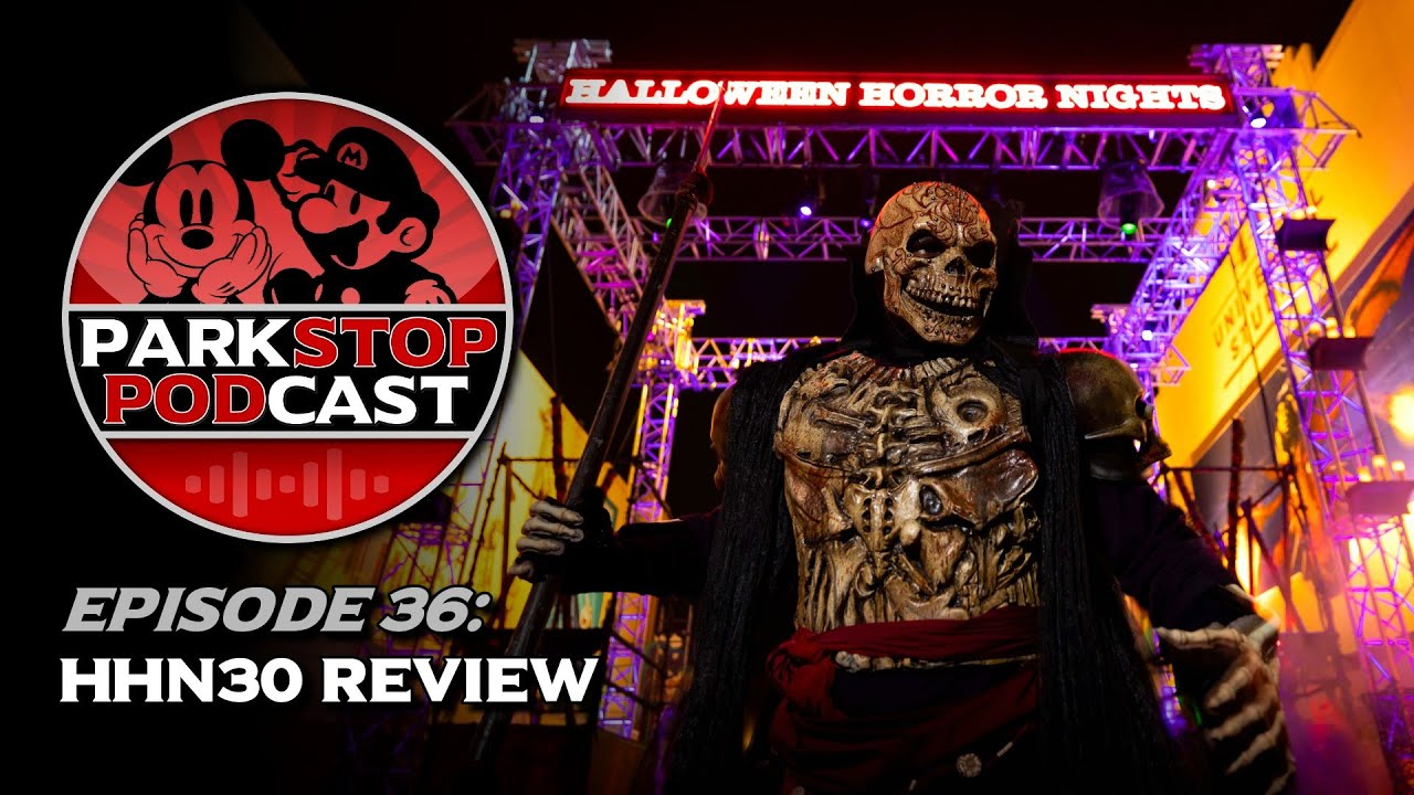 Halloween Horror Nights 30 Review - ParkStop Podcast