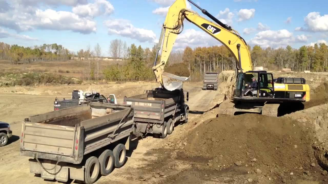 cat 330d excavator youtube. Black Bedroom Furniture Sets. Home Design Ideas