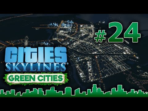 Cities Skylines GREEN CITIES – Grandes Obras #24 - Ferry over troubled water - Gameplay Español