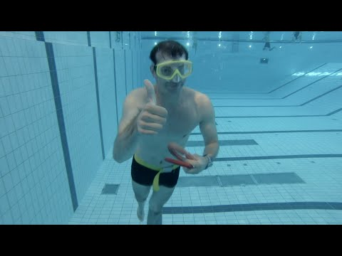 How to do a 50 meter underwater swim (Olympic pool dynamic apnea)