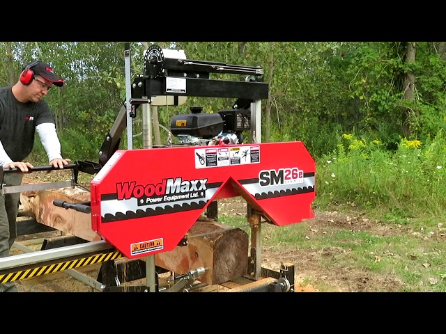 Riding Mower - WoodMaxx SM-26/e (26