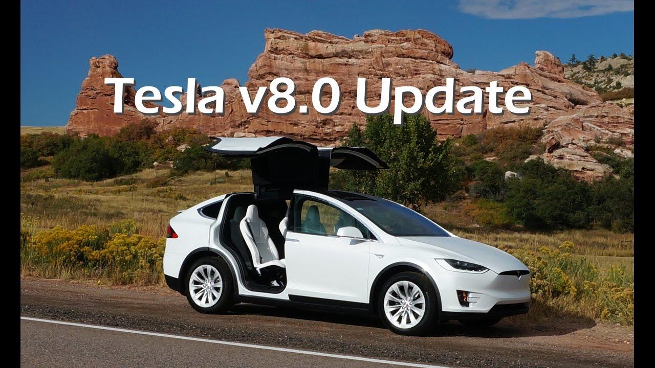 Model Y Update: Tesla V8.0 Update On Model X