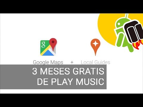 Google Local Guides regala 3 meses de Play Music