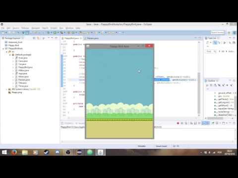 Criando o jogo Flappy Bird em Java utilizando o Eclipse