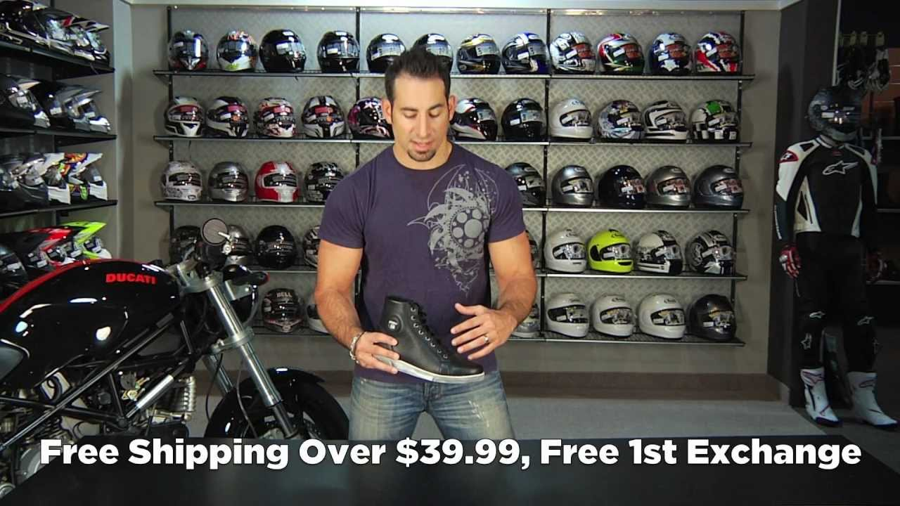 54c06ebd08 TCX X-Street Waterproof Boots Review at RevZilla.com - YouTube