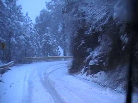 murree to Islamabad - snow fall