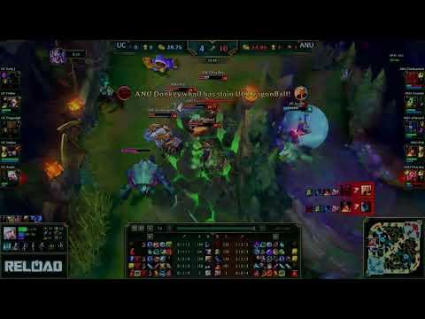 ANU vs UC League of Legends Showmatch 2 − Game 1 Highlights