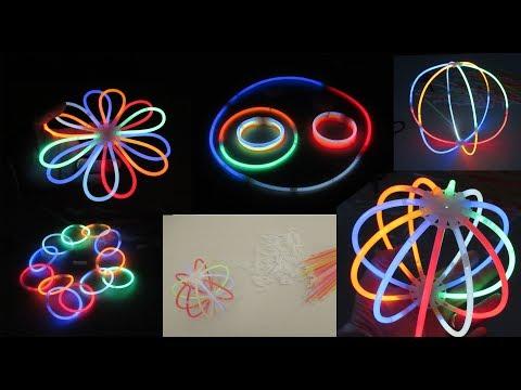 unboxing e accensione 100 light stick, star light, fun, divertimento, diy, gioco