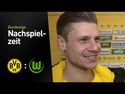Goalgetter Lukasz Piszczek im Interview | BVB - VfL Wolfsburg 3:0