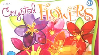 Crystal Flowers Craft Kit from Sentosphere