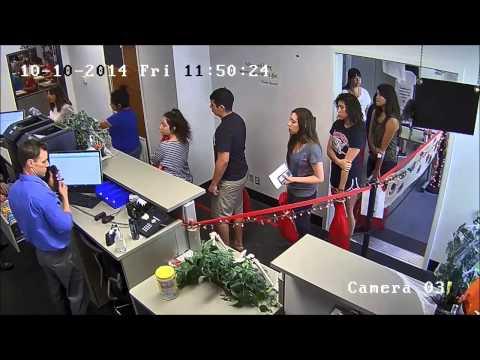 """Check In"" - University Test Center, Fresno State"
