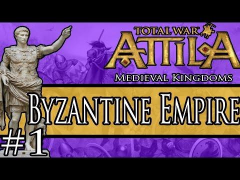 REFORMING THE EMPIRE! Medieval Kingdoms Total War Attila: Byzantine Empire Campaign 1