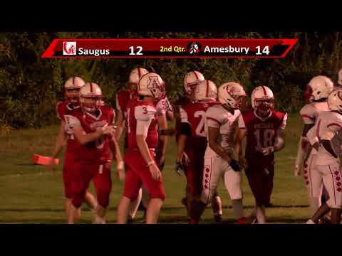Amesbury High School 2018 Football High Lights