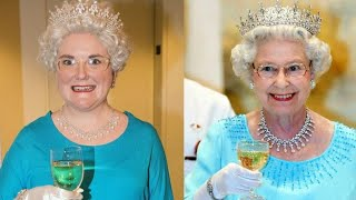 Woman Attempts to Dress and Drink Like Queen Elizabeth II for a Week thumbnail