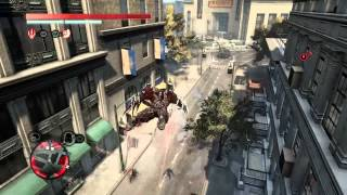 [PROTOTYPE®2] ps4 gameplay freerunning and flying