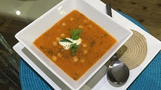 How To Make Spicy Dal Soup (red Lentil Chilli Chickpea Soup) (vegetarian) - Al's Kitchen