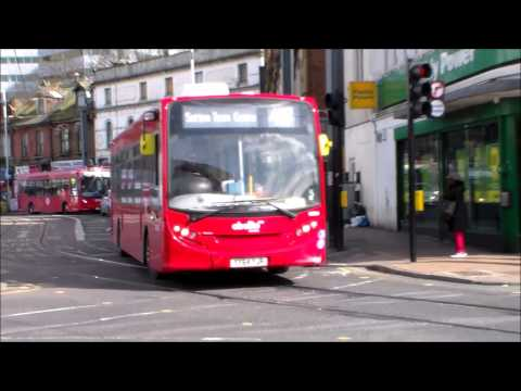 Buses and trams in Croydon 05/03/2015