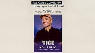 DJ Vice LIVE Benefiting the Tao Cares COVID-19 Employee Relief Fund YouTube Videos