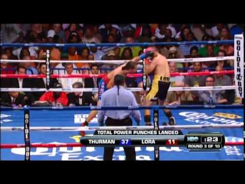 Keith Thurman vs Orlando Lora - full fight