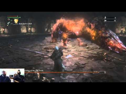 Bloodborne: Failing to kill Watchdog of the Old Lords