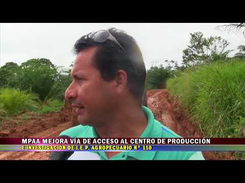 MPAA MEJORA VÍA DE ACCESO AL CENTRO DE PRODUCCIÓN E INVESTIGACIÓN DE IEP  AGROPECUARIO N° 11