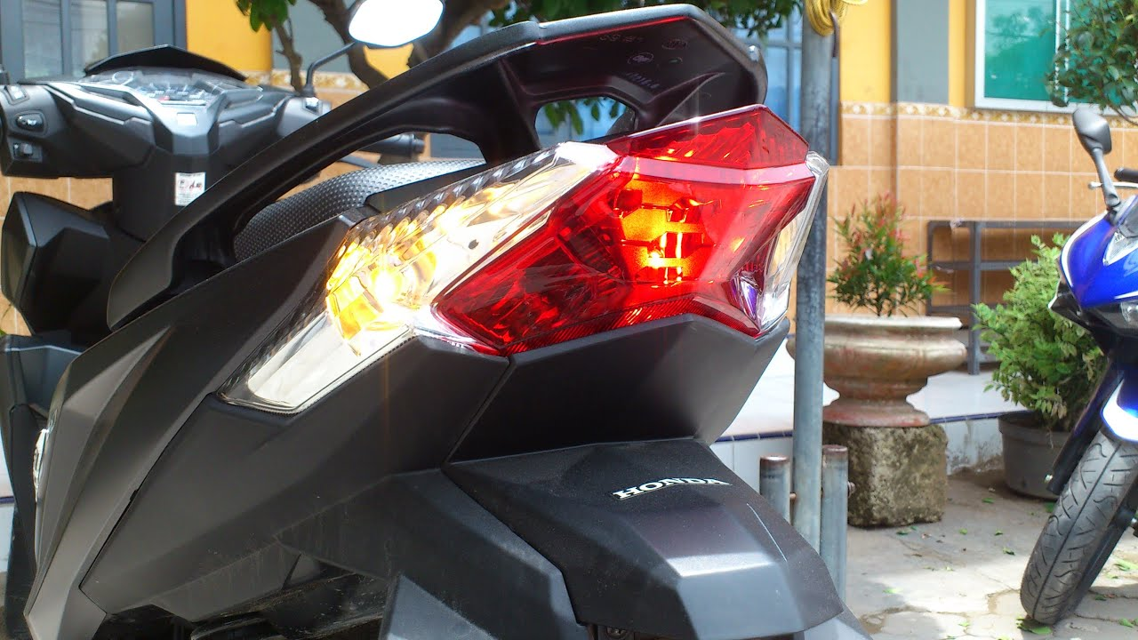 Modifikasi Lampu Belakang Vario 150 Kumpulan Modifikasi Motor Vario