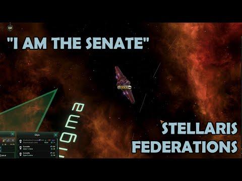 Exploring the Stellaris Federations DLC |