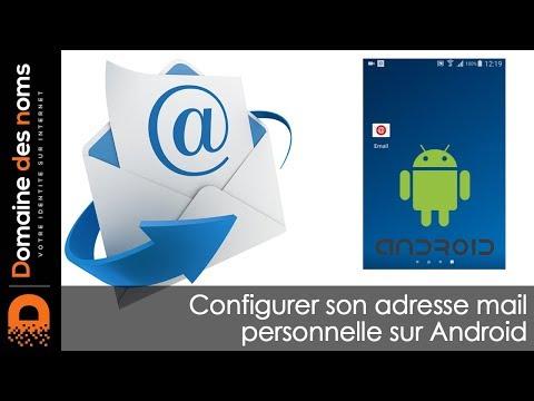 Configuration D'un Compte De Messagerie Sur Android