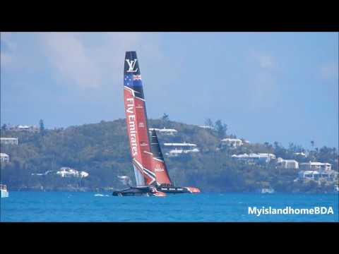 Sailors or Pilots Emirates Team New Zealand Set Sail! Part 4