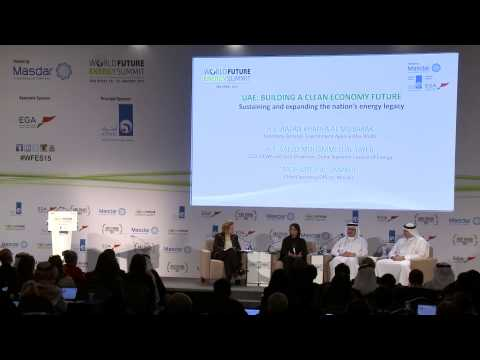 UAE building a Clean Economy future | WFES 2015