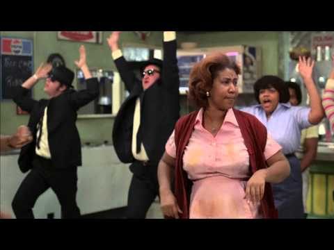 Aretha Franklin interpreta Think con los Blues Brothers