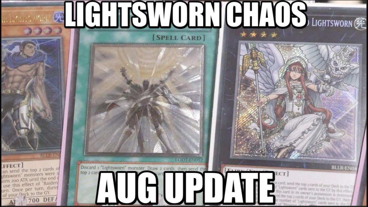 YUGIOH Chaos Lightsworn UPDATE Profile AUG 2020