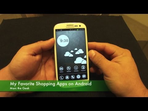 My Top  Shopping Apps On Android