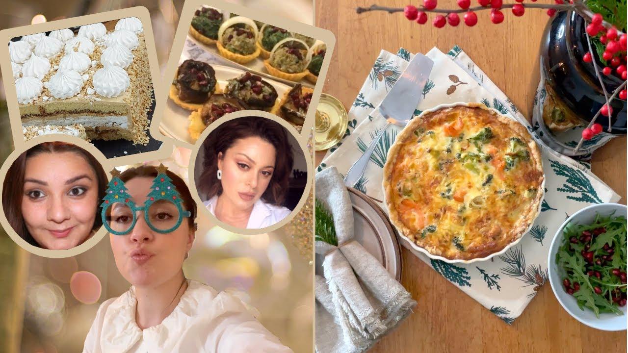 საახალწლო სამზადისი l ორაგულის ღვეზელი l კოლაბორაცია გოგოშკებთან – Apolines cuisine & Shoka 77