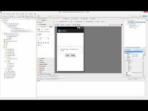 Android App 1, GeoQuiz
