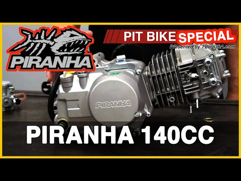 Piranha 140cc Pit Bike Engine - WHS-1143 - Pit Bike Update SPECIAL!