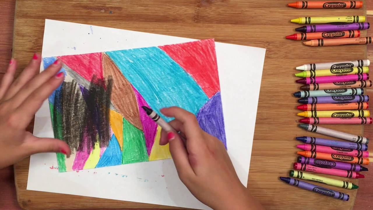 Easy Art Project For Kids Youtube