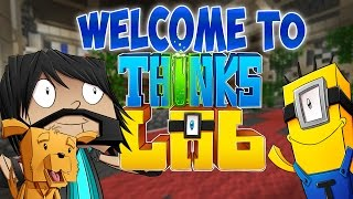 WELCOME TO THINK'S LAB! | Minecraft Mods [Minecraft Roleplay]
