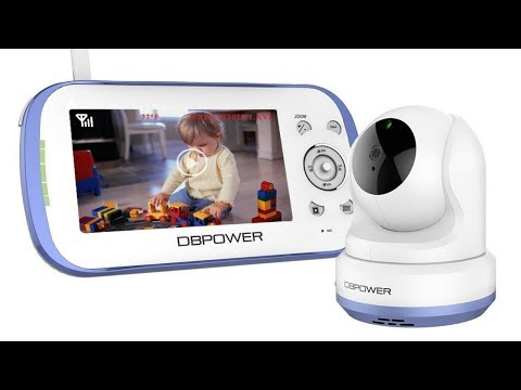 dbpower-video-baby-monitor-review-&-demo!