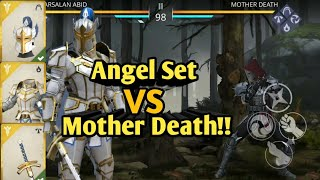 SHADOW FIGHT 3 | Chapter 5 | Angel's Legendary Set VS Mother Death !!