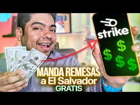 {TUTORIAL) Como Mandar Remesas a El Salvador de GRATIS usando Strike / Como Funciana?