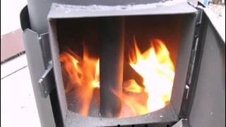 печь вертикального длительного горения с боковой загрузкой от Эквиптех(вертикальное высокоэффективное горение твердого топлива, добавили боковую загрузку, зольник, горение..., 2014-11-12T19:45:05.000Z)