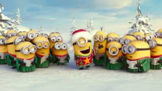 Die Minions - Merry Christmas - Frohe Weihnacht