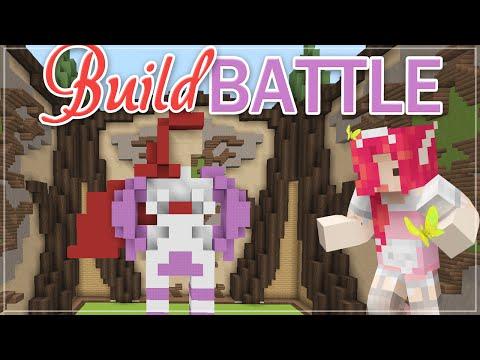 Minecraft BUILD BATTLE ♡ Superhero!