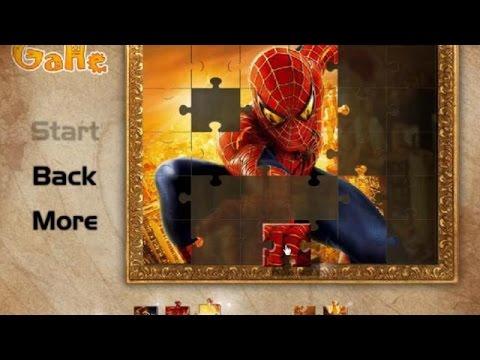 Spiderman Jigsaw Puzzle - Super Heroes Games 4 Kids