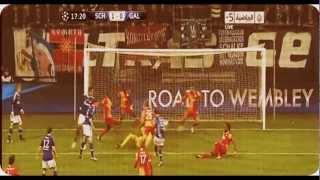 Schalke 2 - 3 Galatasaray.. (Maçın Özeti) 12.03.2013