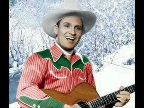 Gene Autry country christmas song - Up On The House Top - YouTube
