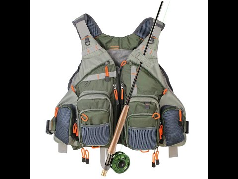 Product Test   Kylebooker Fly Fishing Mesh Vest FV01